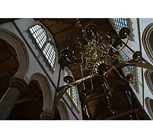 The Golden Chandelier  Photographic Print