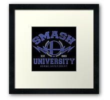 smash university Framed Print