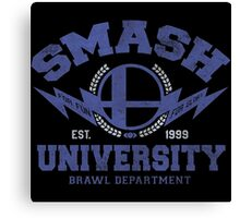 smash university Canvas Print