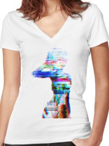 not your doll Women's Fitted V-Neck T-Shirt