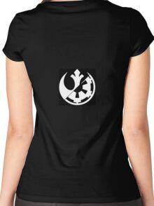 Rebel vs Empire Women's Fitted Scoop T-Shirt