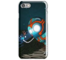The Robot and Butterfly iPhone Case/Skin