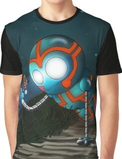 The Robot and Butterfly Graphic T-Shirt