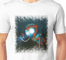The Robot and Butterfly Unisex T-Shirt