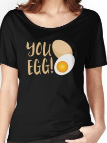 You egg (with golden egg) funny Kiwi Saying Women's Relaxed Fit T-Shirt