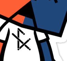 f(x) KLAV Sticker