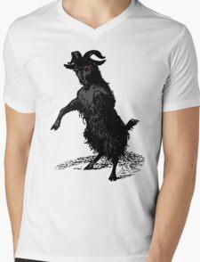 Black Phillip Mens V-Neck T-Shirt