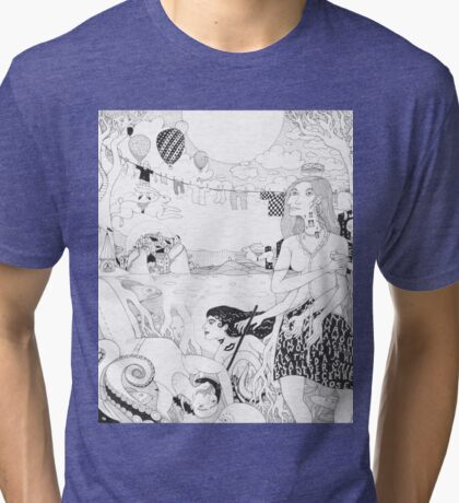 Before Easter Tri-blend T-Shirt