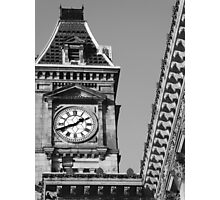 Classical Timepiece Photographic Print