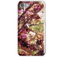 Cool, unique modern nature tree abstract digital art design iPhone Case/Skin