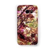 Cool, unique modern nature tree abstract digital art design Samsung Galaxy Case/Skin