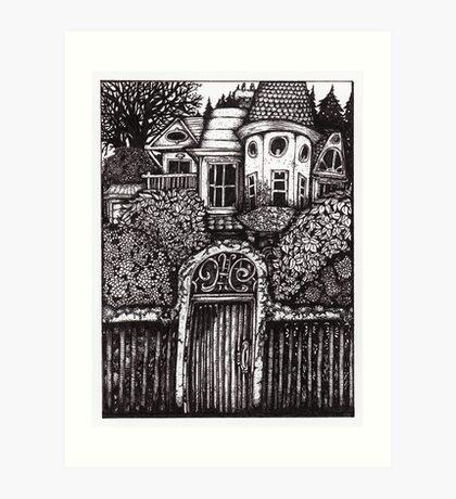 The Hidden House Art Print