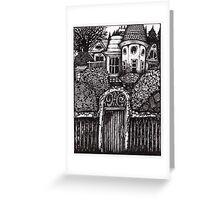 The Hidden House Greeting Card