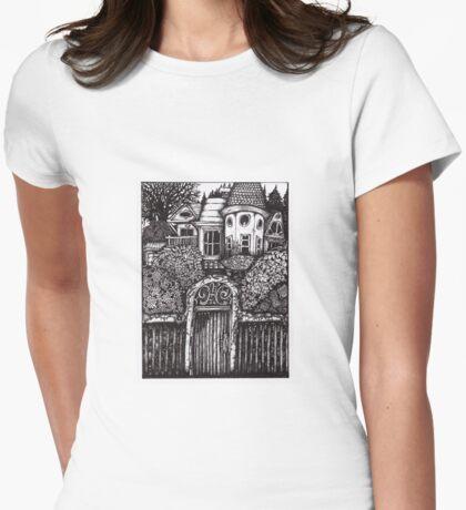 The Hidden House Womens Fitted T-Shirt