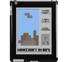 Minecraft in 80's iPad Case/Skin