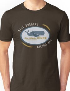 Two Whales Diner shirt – Life Is Strange, Arcadia Bay, Menu Unisex T-Shirt