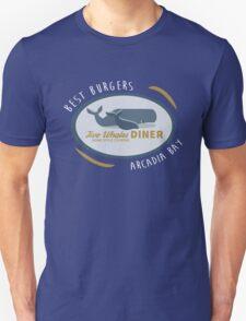 Two Whales Diner shirt – Life Is Strange, Arcadia Bay, Menu Unisex T-Shirt