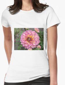 Flower Close-Up, Liberty Community Garden, Lower Manhattan, New York City Womens Fitted T-Shirt