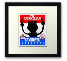 The Amphibian Candidate Framed Print