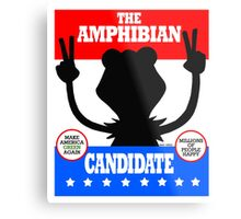 The Amphibian Candidate Metal Print