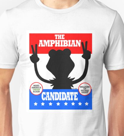 The Amphibian Candidate Unisex T-Shirt