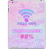 free wifi loading iPad Case/Skin
