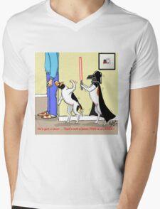 Darth Russell or Jack Vader Mens V-Neck T-Shirt