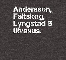 ABBA [line-up] v2 Unisex T-Shirt