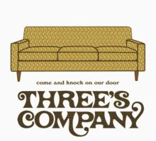 Three's Company Kids Tee