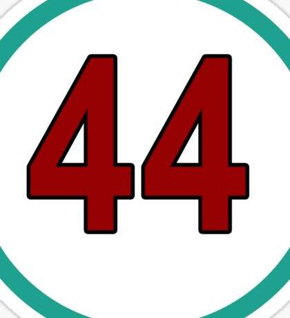 Hamilton #44 Sticker
