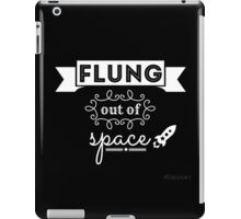 Flung out of space. iPad Case/Skin