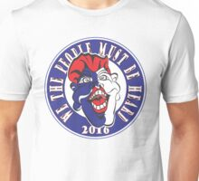 WE THE PEOPLE MUST BE HEARD #2 Red White & Blue Unisex T-Shirt