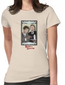 Jeeves and Wooster Womens Fitted T-Shirt