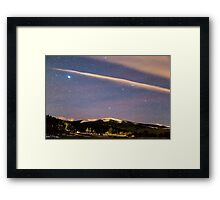 Rocky Mountain Cosmic Delight Framed Print