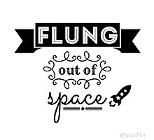 Flung out of space. (2.0) Photographic Print