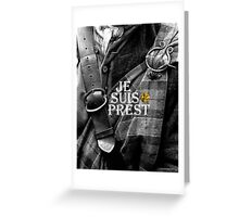 Outlander/Jamie Fraser/Je suis prest Greeting Card