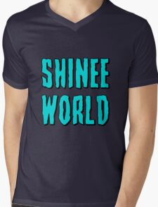 SHINee WORLD Mens V-Neck T-Shirt