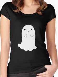 Cute Ghost Women's Fitted Scoop T-Shirt