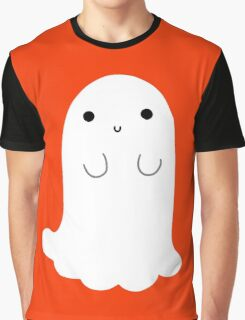 Cute Ghost Graphic T-Shirt