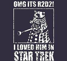 R2-D2 Star Trek Dalek T-Shirt