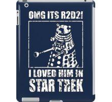R2-D2 Star Trek Dalek iPad Case/Skin