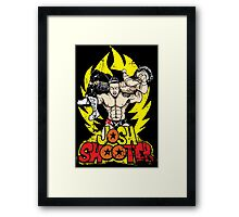 Super Axe Smash to JXT Framed Print