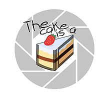 Portal Cake Photographic Print