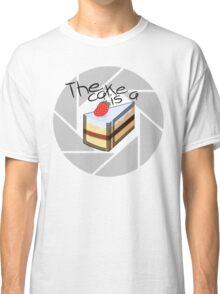 Portal Cake Classic T-Shirt