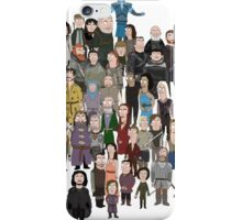 Game of Burgers - All Characters iPhone Case/Skin