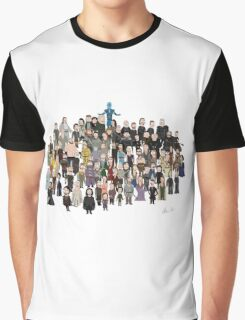 Game of Burgers - All Characters Graphic T-Shirt