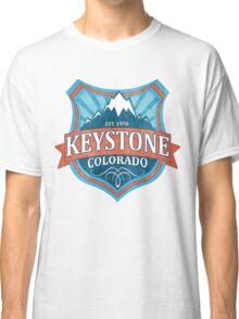 Keystone Colorado teal shield Classic T-Shirt