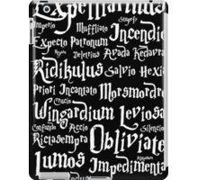 Harry Potter - Spells iPad Case/Skin