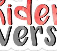 Rider University  Sticker