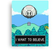 Mother 3 x X-Files Canvas Print
